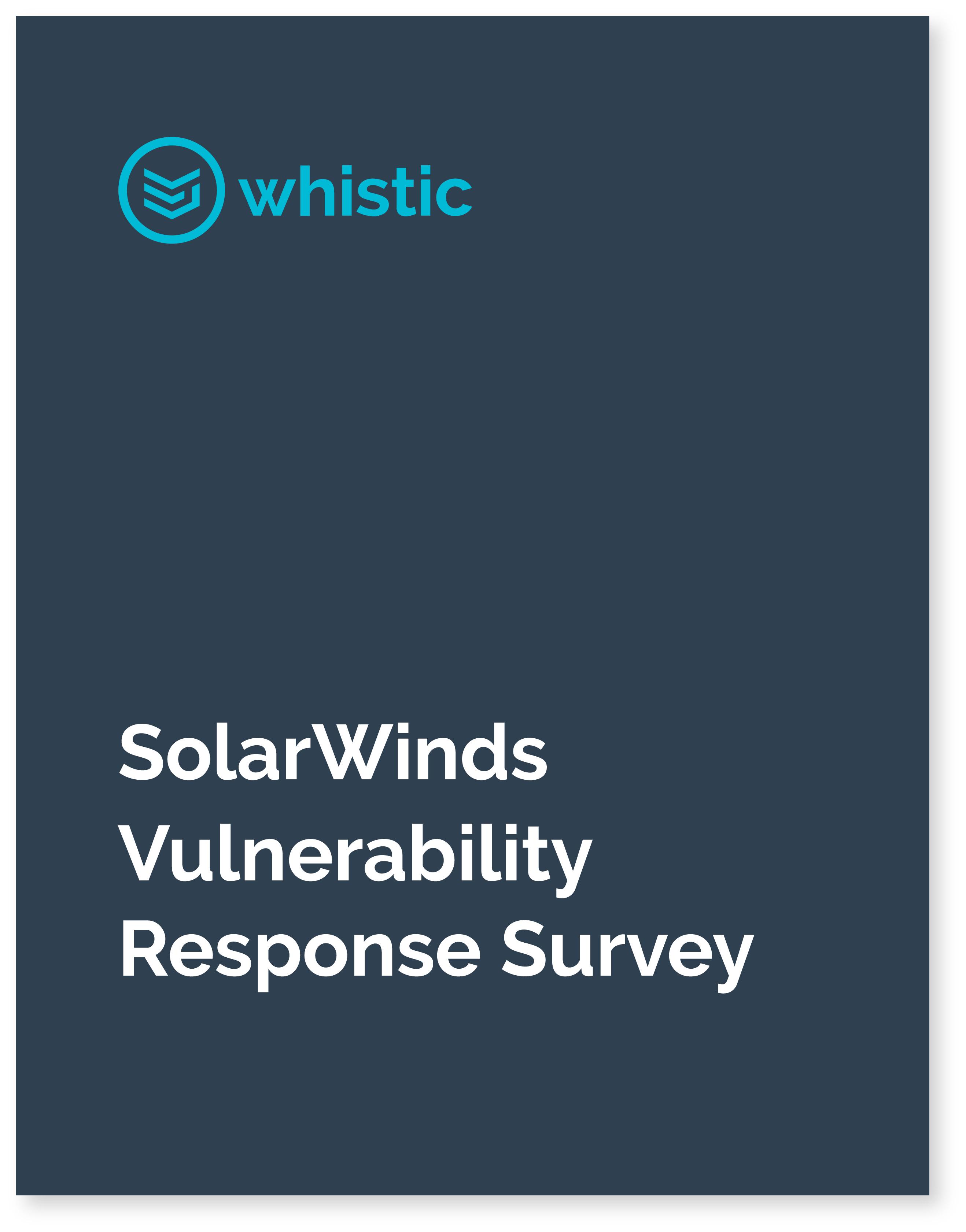 SolarWinds Survey Cover